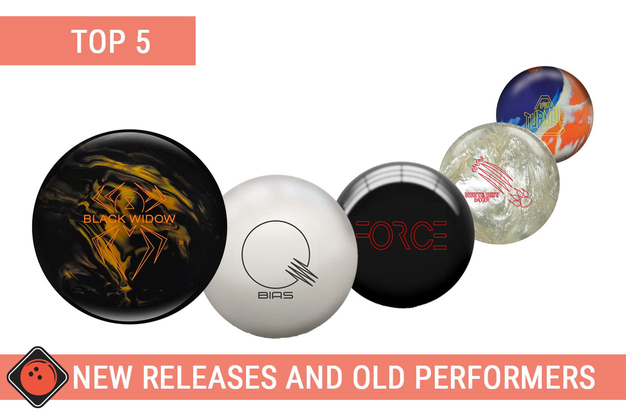 Top 5 New bowling balls releases and Old Performers