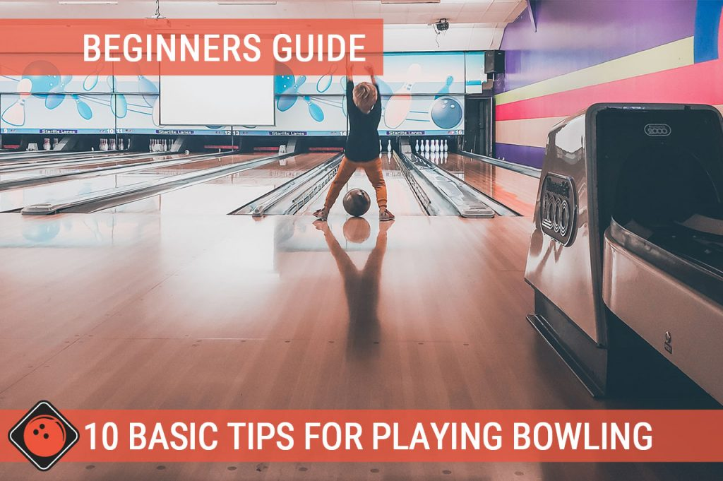 Toddler throwing a bowling ball - Title Picture for 10 Basic Tips for Playing Bowling