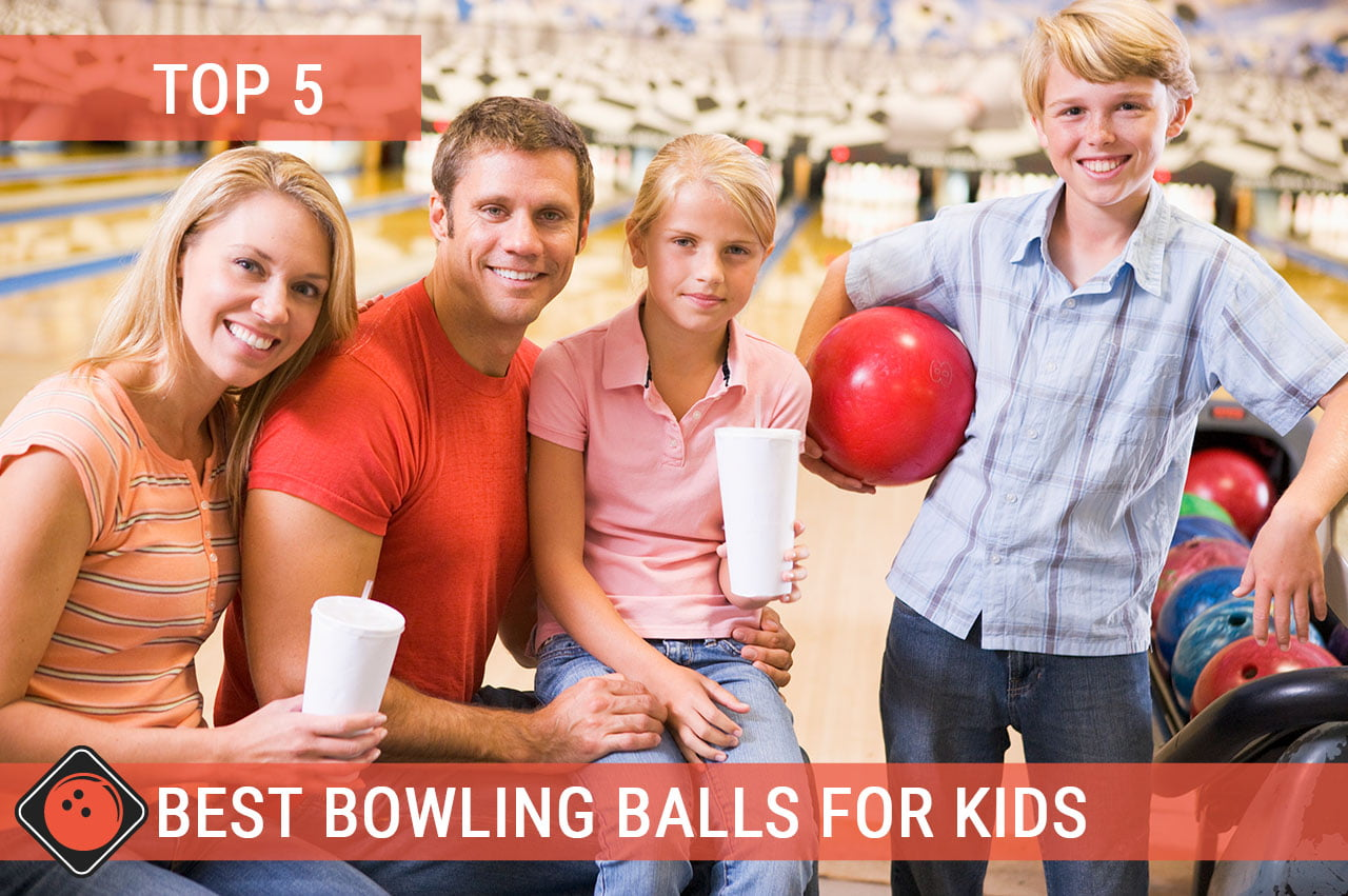 Family playing bowling - Title Picture for Best Bowling Balls for Kids
